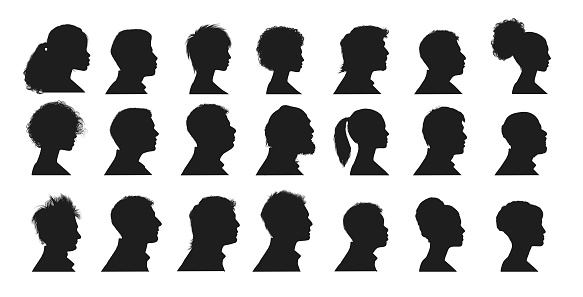 Mänskliga Ansikten-vektorgrafik och fler bilder på Avatar
