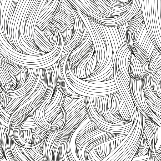 royalty free piece of hair clip art vector images illustrations