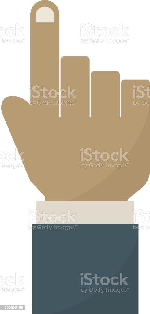 Human hands vector illustration. royaltyfri human hands vector illustration-vektorgrafik och fler bilder på affärsman