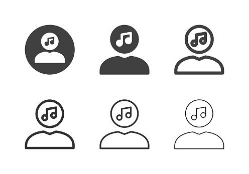 Human Head Music Icons - Multi Series
