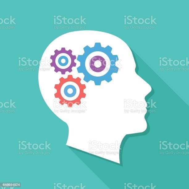 Human head with gears and cogs thinking process idea generation brain vector id646644524?b=1&k=6&m=646644524&s=612x612&h=r gansywp5p9 gagbvrqbmkywknepxg9lzm45bi 98u=