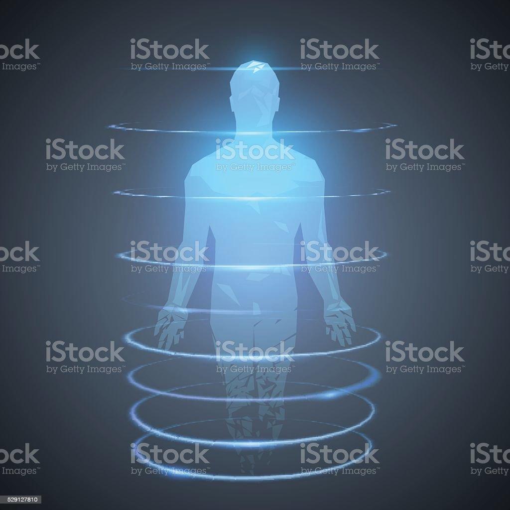 Human illustration vector art illustration