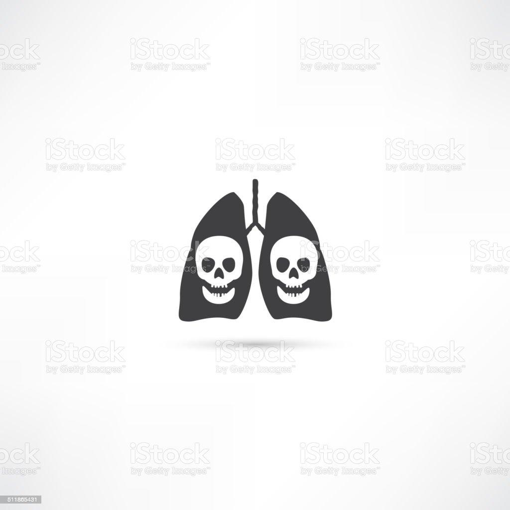 Menschliche Lunge Symbol Stock Vektor Art und mehr Bilder von ...