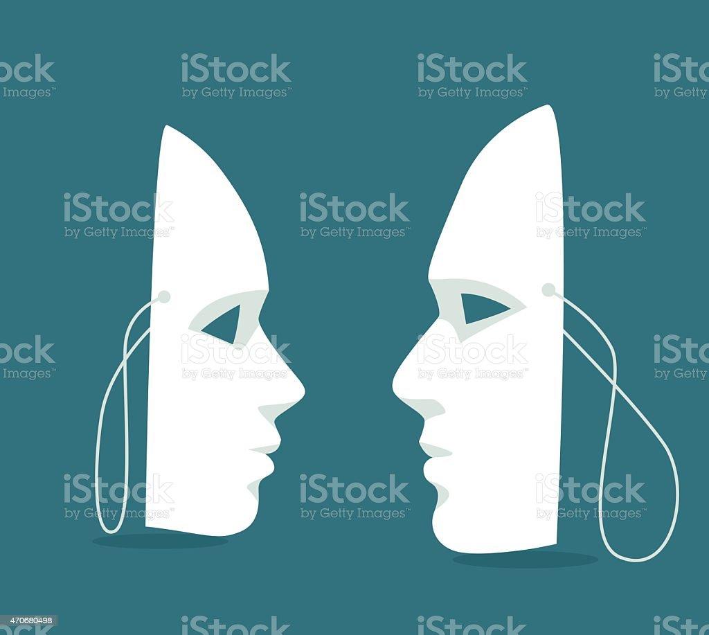 Human Relationship-Illustration vector art illustration