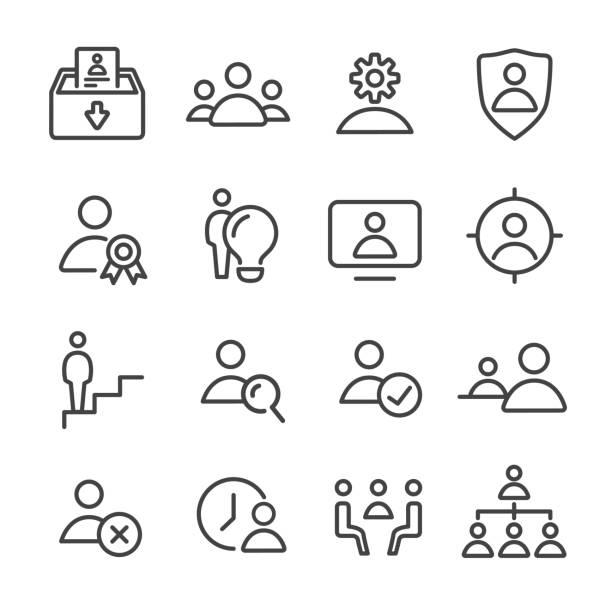 Grafika wektorowa, ikony, ilustracje Hierarchia