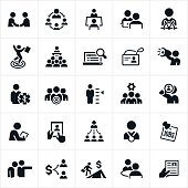 Human Resources and Recruiting Icons