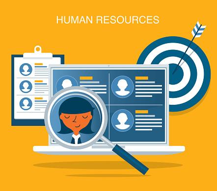 Human resources - Businesswoman