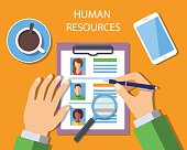 Human Resources Management Concept
