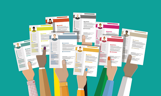 Human Resources Management Concept Stock Illustration - Download Image Now