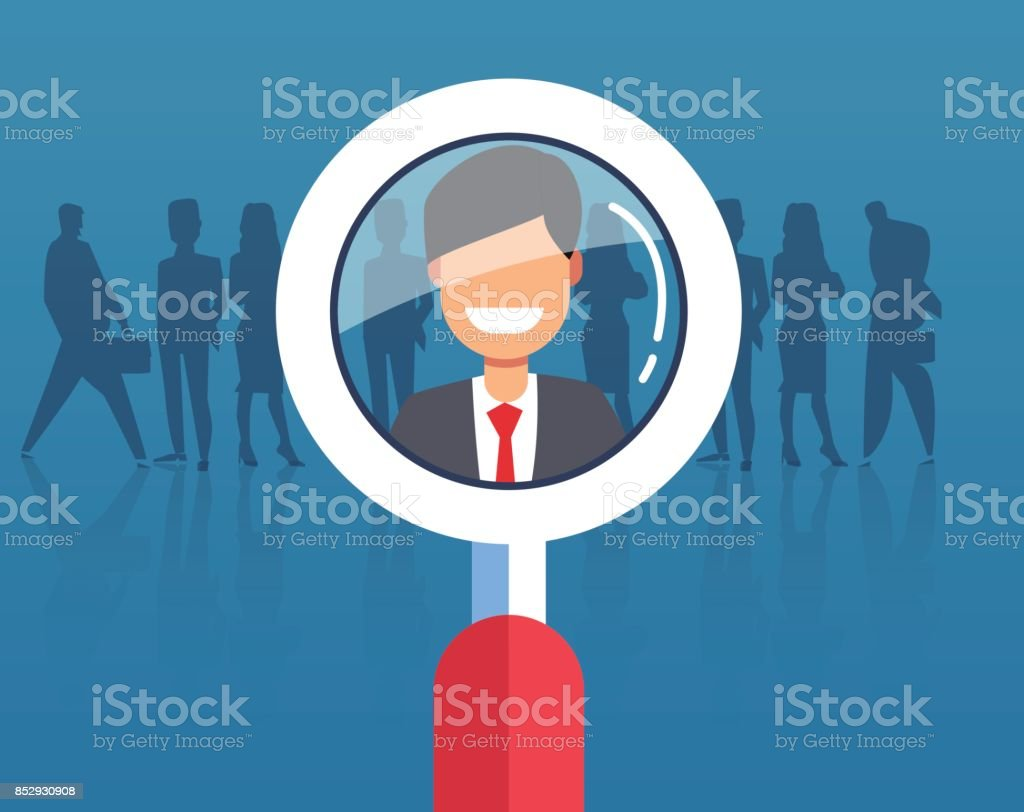 Human Resources vector art illustration