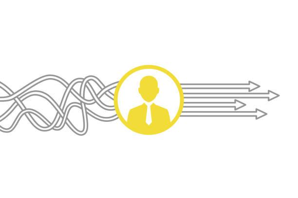 ilustraciones, imágenes clip art, dibujos animados e iconos de stock de conceptos de recursos humanos - conceptos de negocios