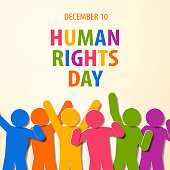 Achieving the human's equality and freedom is the aims for the annual event of the Human Rights Day on December 10