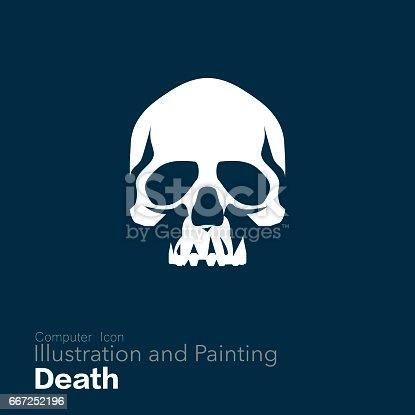 istock Human Skull, 667252196