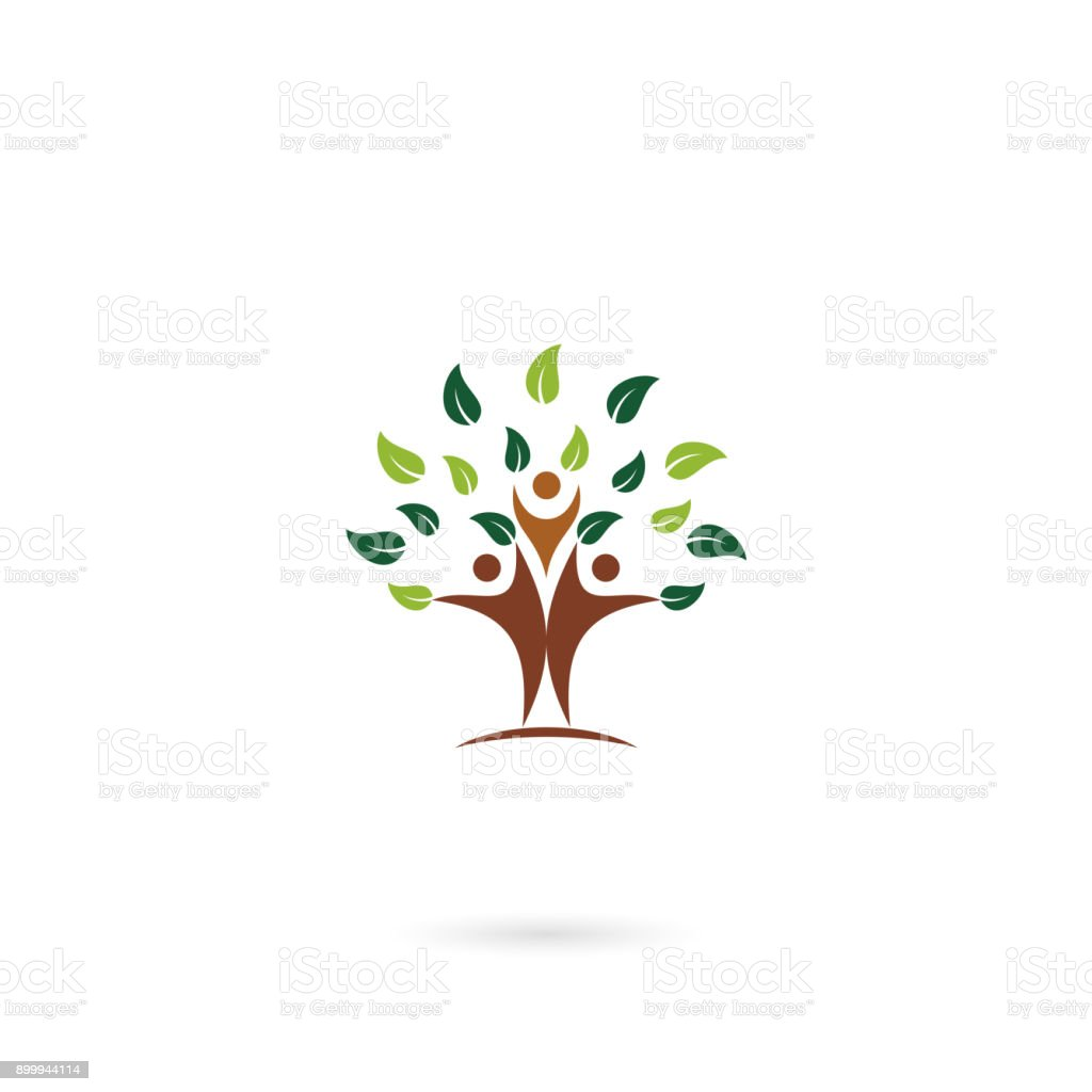 Human Tree Human Template Family Stock Vector Art More Images Of