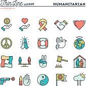 Humanitarian, peace, justice, human rights and more