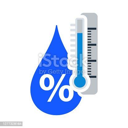 istock Humidity Icon 1277328164