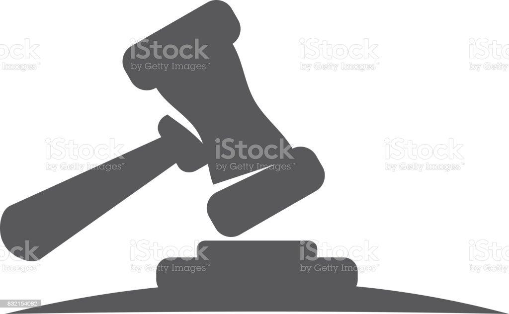 Hummer Justice vector art illustration
