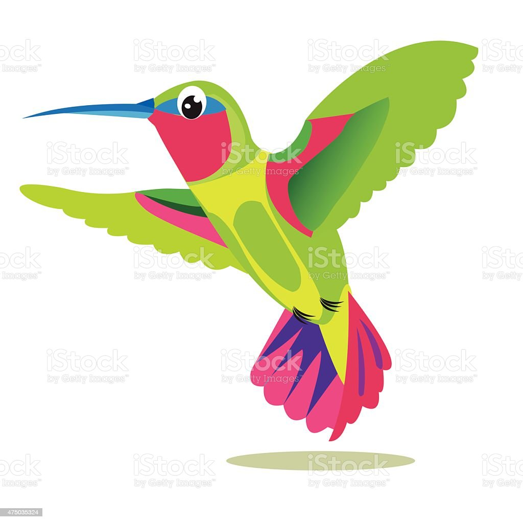 Hummingbird Bird Picture Hummingbird Symbol Hummingbird Print Stock