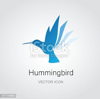 istock Hummingbird symbol 471143822