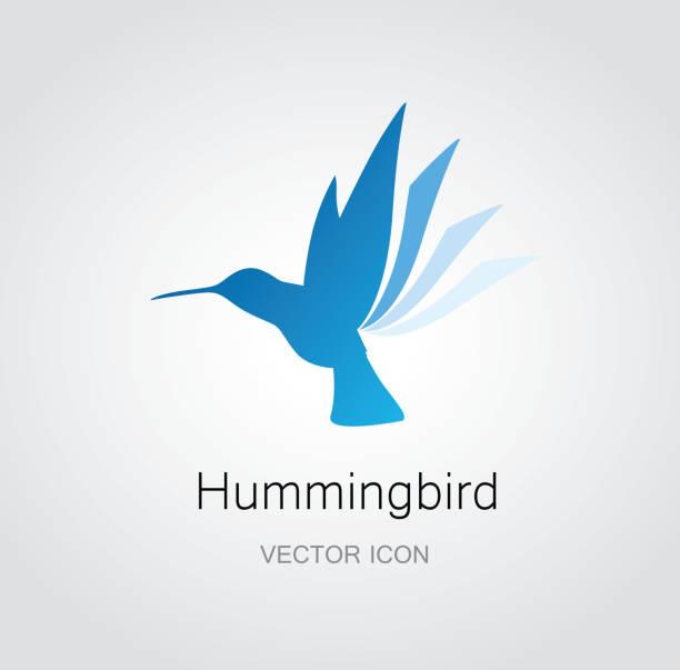 hummingbird symbol - hummingbird stock illustrations