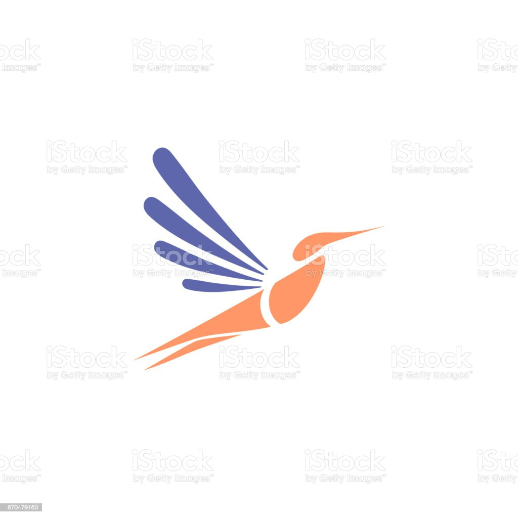 hummingbird template for business industry healthcare spa stock