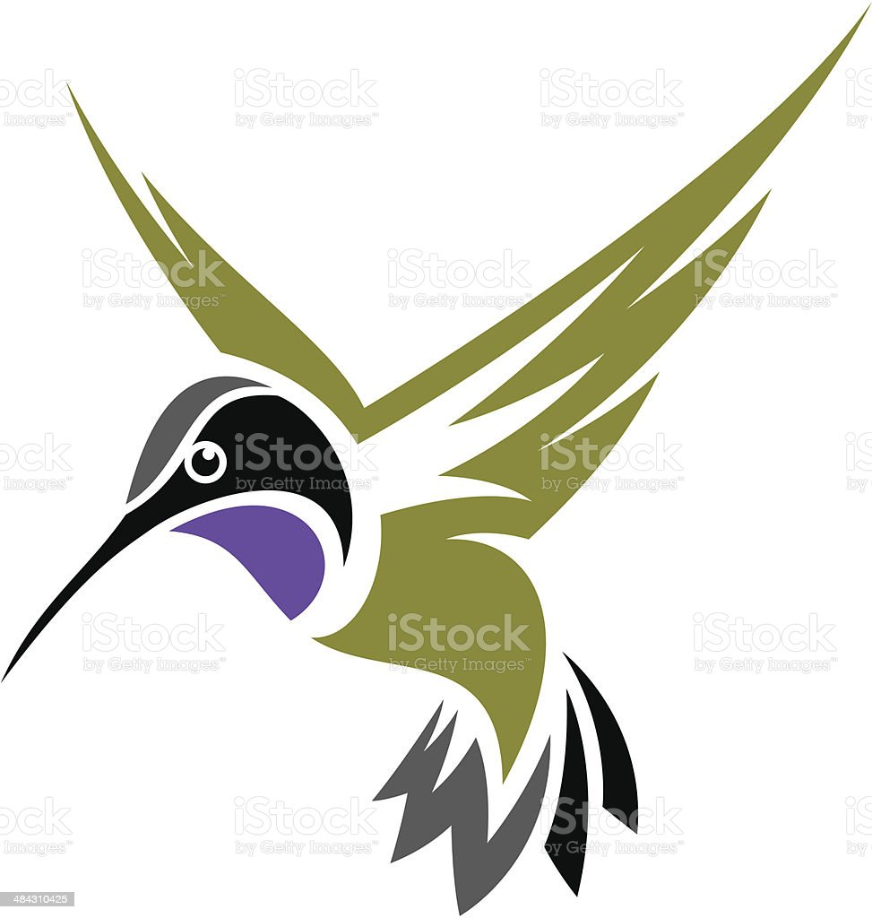 hummingbird stock vector art more images of abstract 484310425