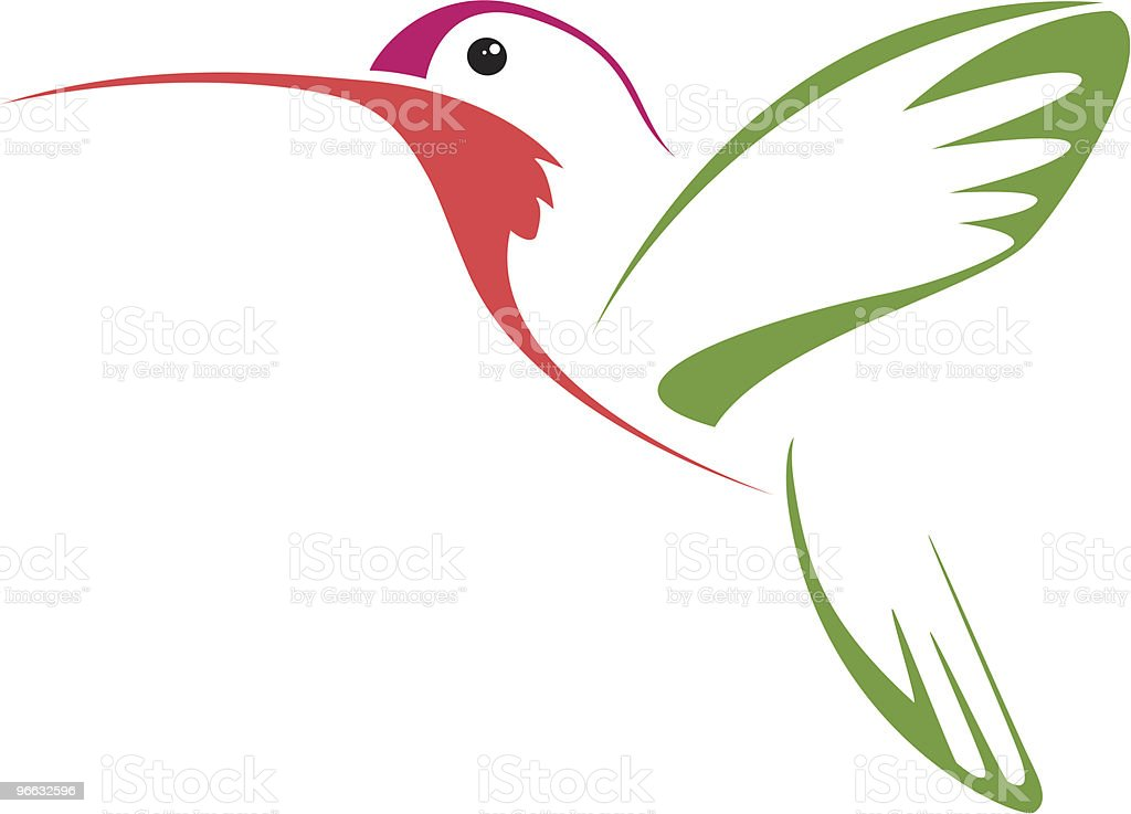 hummingbird stock vector art more images of abstract 96632596 istock