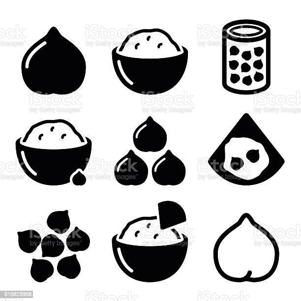 Hummus or houmous chickpeas vector icons set vector id515823958?b=1&k=6&m=515823958&s=612x612&h=oh54rv3dyczocxd8 jkwhjqr1ogj0krvwrj2gv jww4=