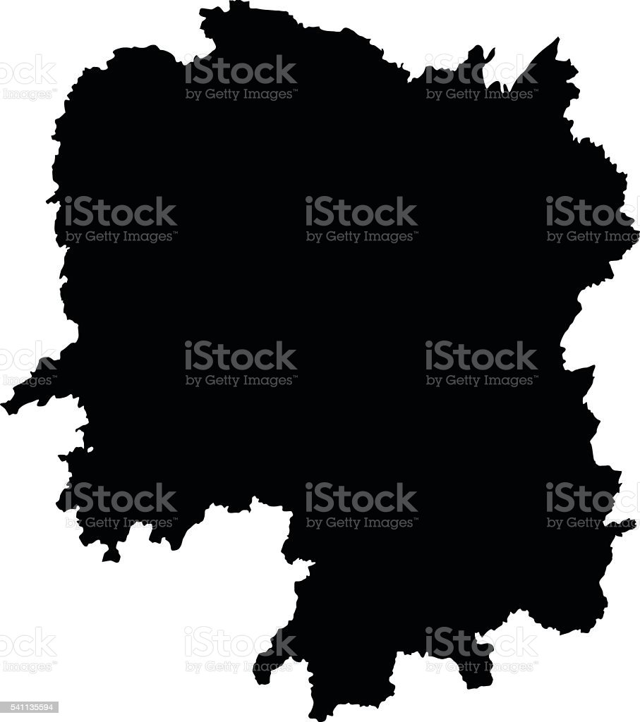 Carte Chine Hunan.Hunan Noir Sur Fond Blanc Vecteur Carte Vecteurs Libres De Droits