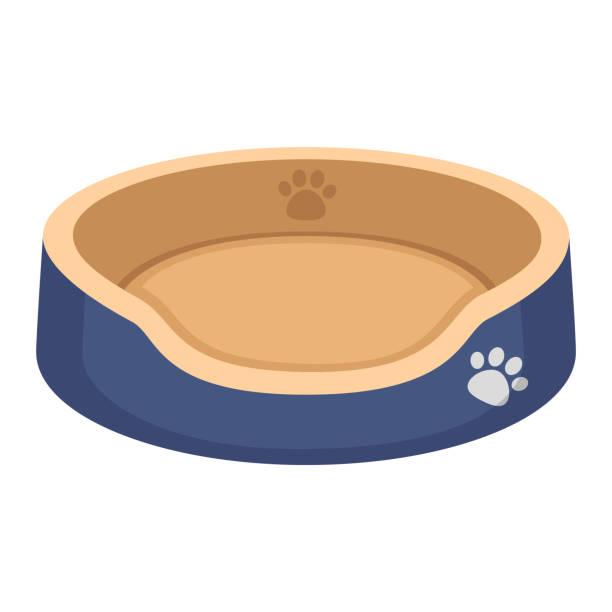 hundbädd - hundebetten stock-grafiken, -clipart, -cartoons und -symbole