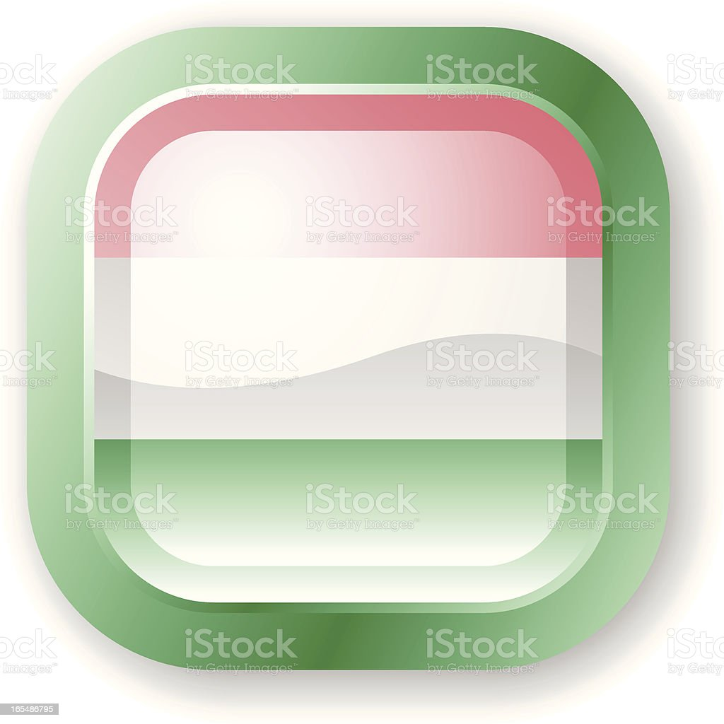 Hungary Flag Icon royalty-free hungary flag icon stock vector art & more images of clip art