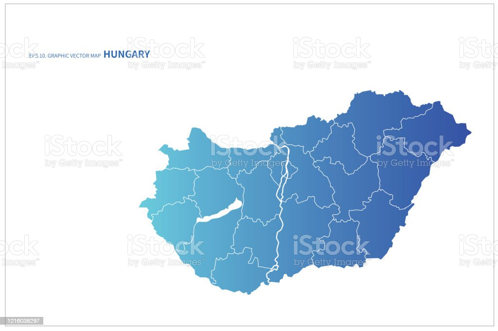Picture of: Hungary Map Vector Map Of Hungary In Europe Stock Illustration Download Image Now Istock
