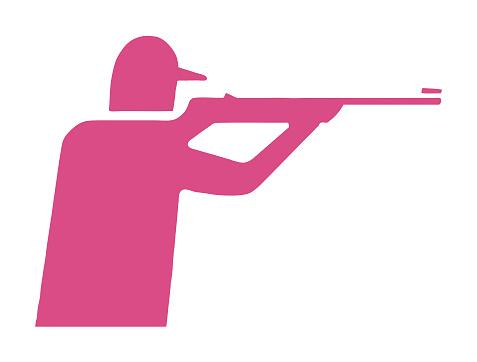 Hunter Shooting Gun