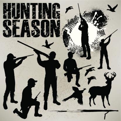 Hunting Season - Duck, Deer and Phesant Hunters