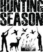 Hunting Season - Duck, Pheasant, Deer, Hunter