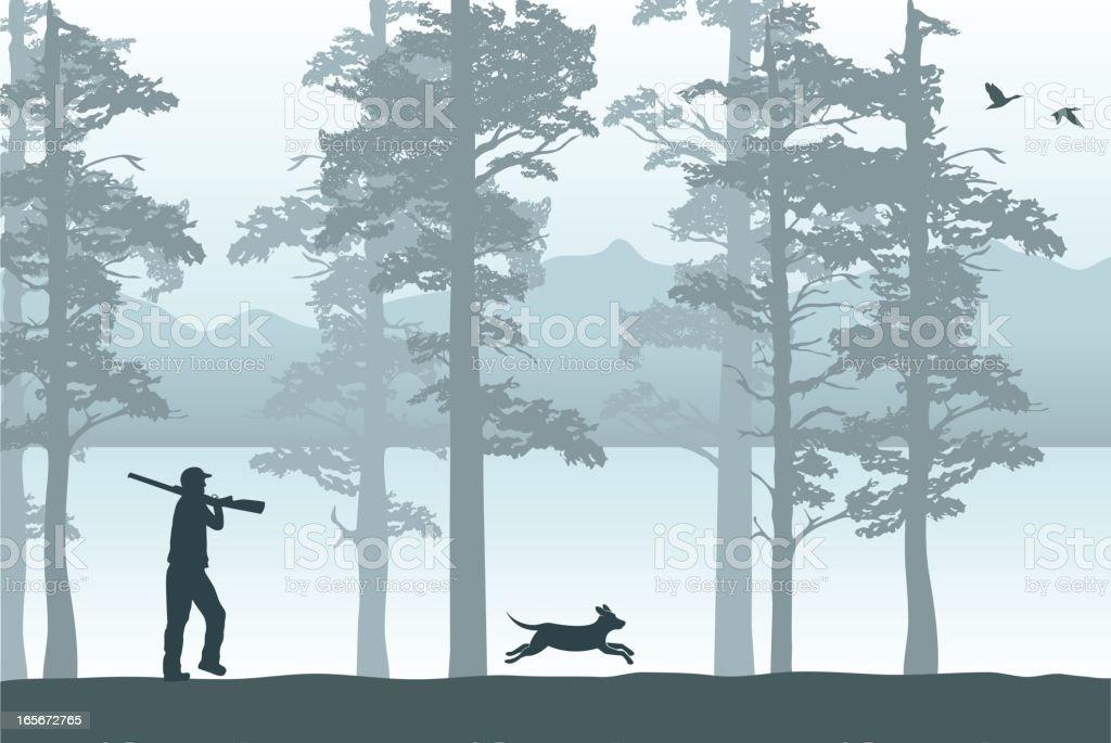 Hunting season royalty-free hunting season stock vector art & more images of activity