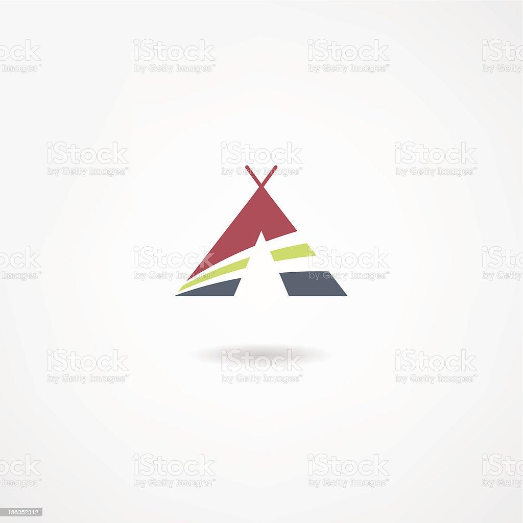 hut icon royalty-free stock vector art