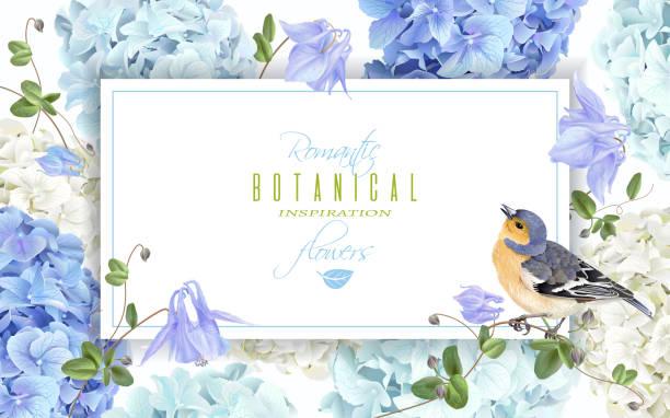 Floral frame stock illustrations