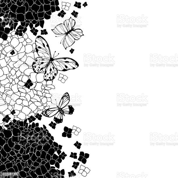 Hydrangeas and butterflies floral vector background with space for vector id935281392?b=1&k=6&m=935281392&s=612x612&h= ah s6ht9cmfnyjsncujrfu8bnz57kgmhbv2iehsjqs=