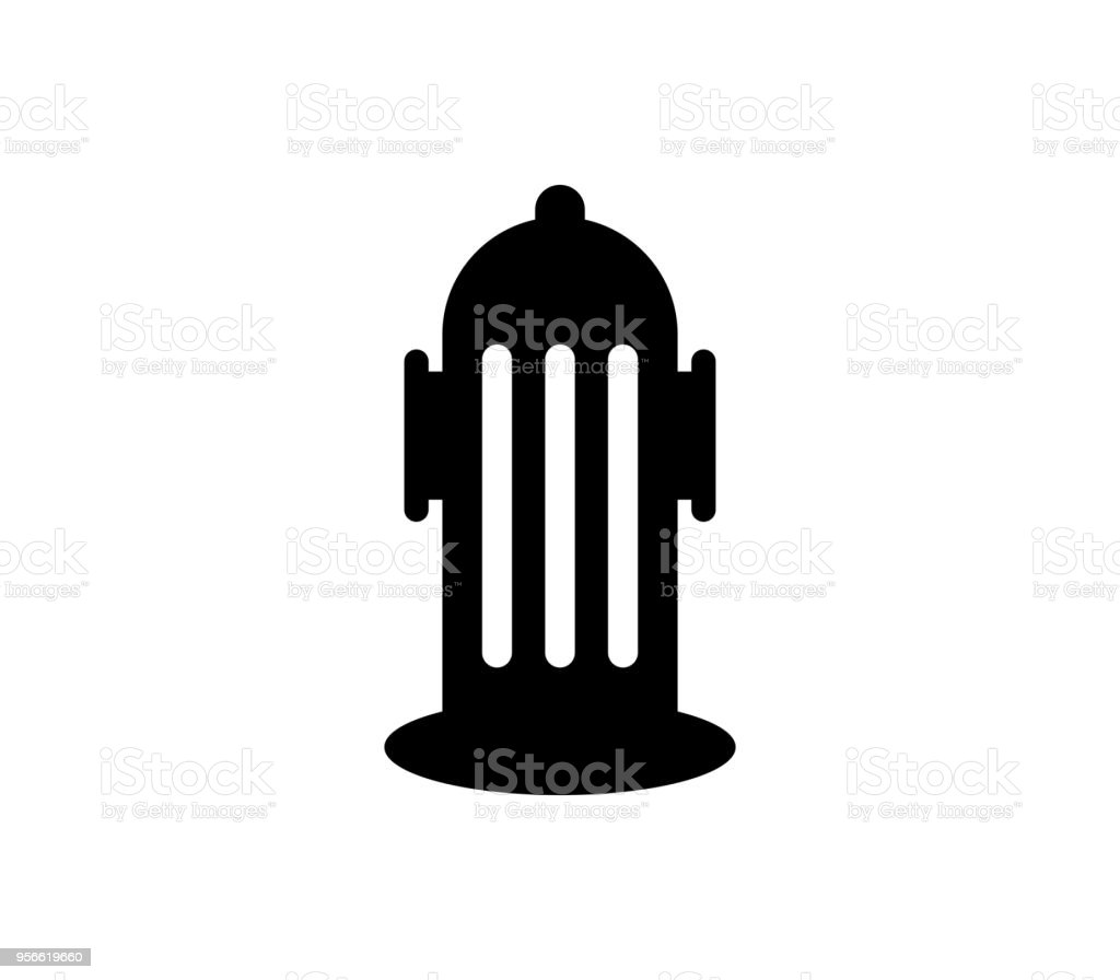 hydrant icon vector art illustration