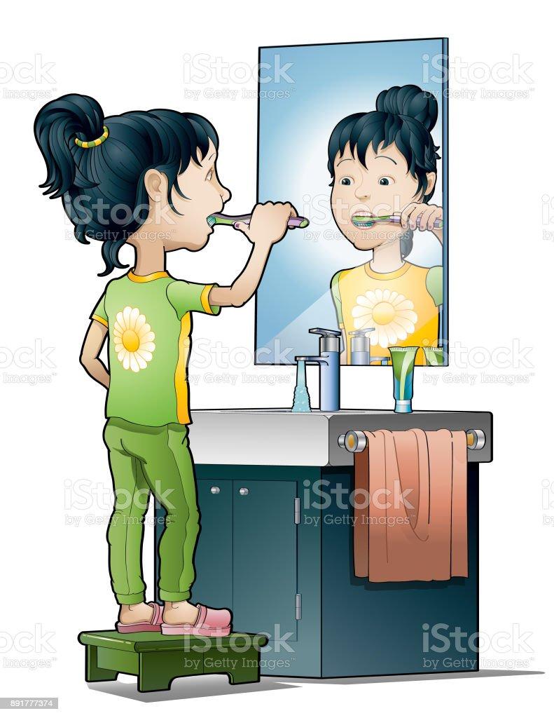 Hygiene vector art illustration