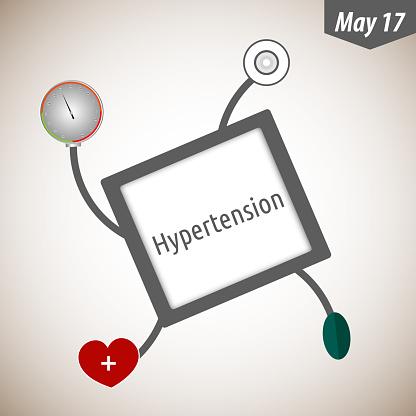 Hypertensie Dag Stockvectorkunst en meer beelden van Apparatuur