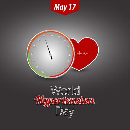 Hypertoni Dag-vektorgrafik och fler bilder på Affisch