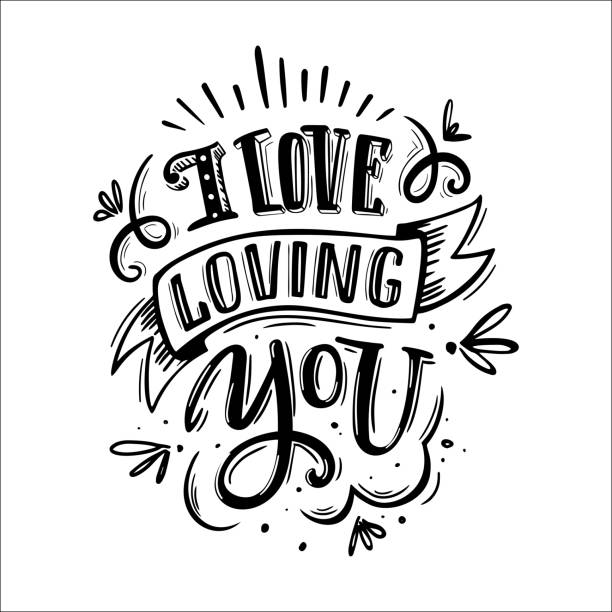 illustrations, cliparts, dessins animés et icônes de j'aime t'aimer - tatouages cœurs