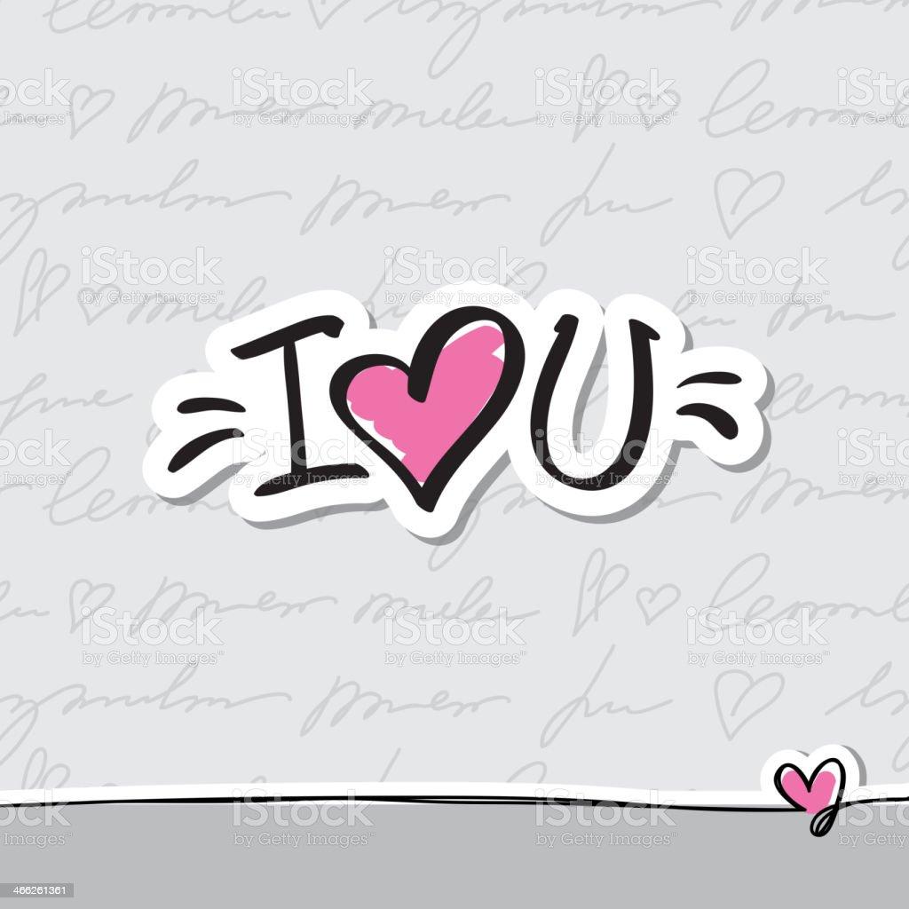 I love you text stockvectorkunst en meer beelden van achtergrond i love you text royalty free i love you text stockvectorkunst en meer beelden van achtergrond voltagebd Choice Image