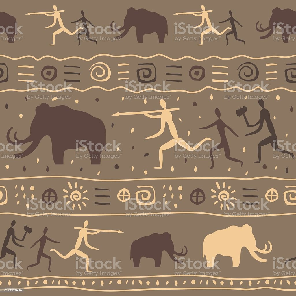 ice age vector art illustration