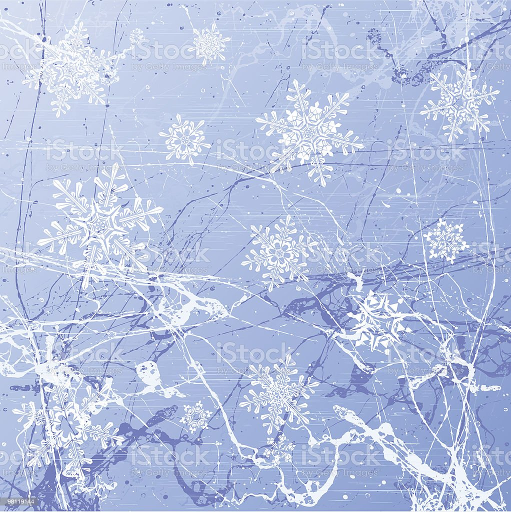ice background & snowflakes royalty-free ice background snowflakes stock vector art & more images of abstract