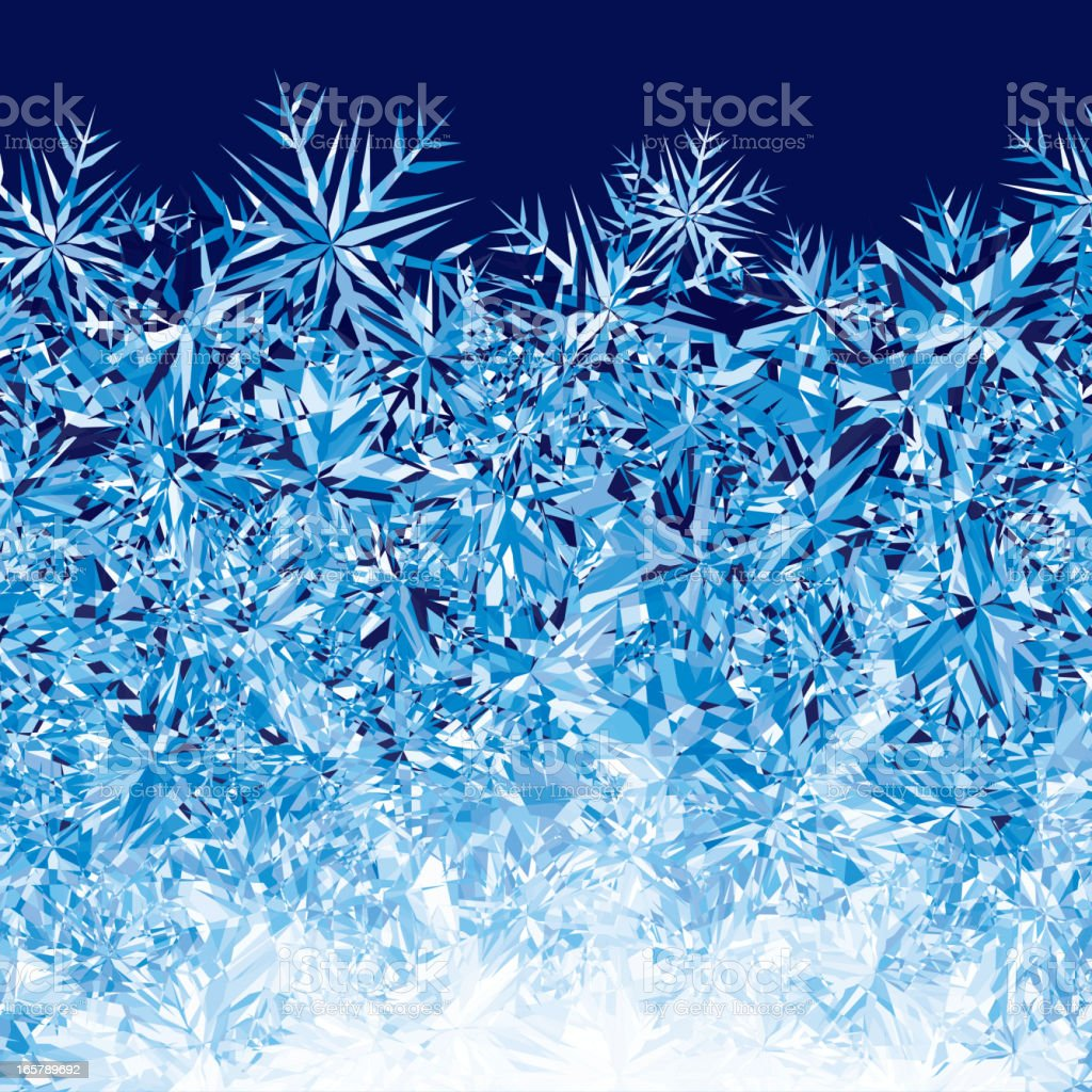 Ice background royalty-free stock vector art