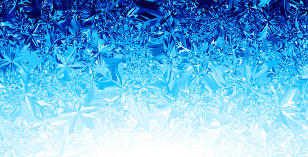 Ice background Blue winter background. ice stock illustrations