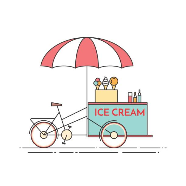 Line Art Ice Cream : Royalty free buffet line clip art vector images